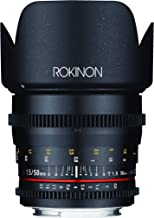 Rokinon Cine DS 50mm T1.5 Lens for Canon