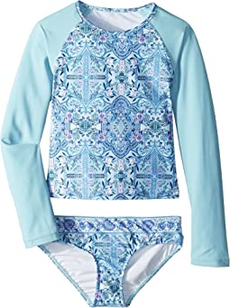 Seafolly Kids - Gypsy Dream Long Sleeve Surf Set (Little Kids/Big Kids)