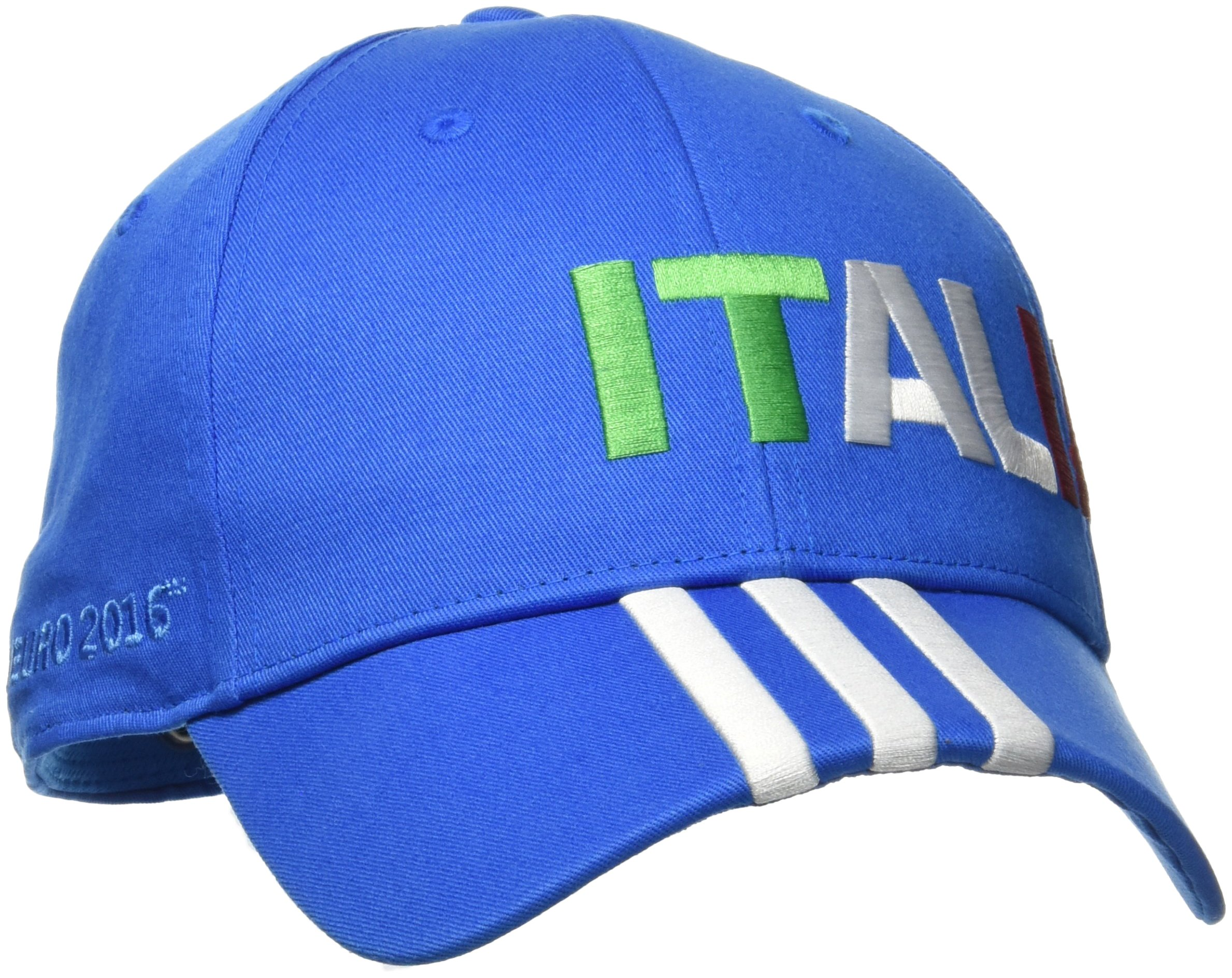 adidas Erwachsene CF 3S Cap ITA 3- Streifen Italia Kappe, Blau, 60