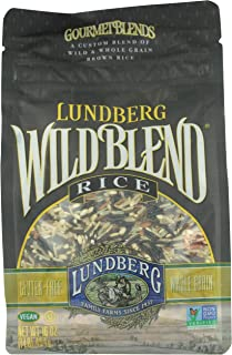Lundberg Gourmet Rice Wild Whole Grain Brown 16 Oz