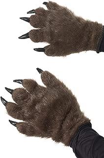 Men's Brown Hairy Monster Hands