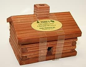 Paine's Red Cedar Log Cabin Incense Burner