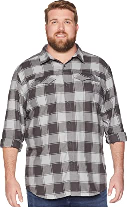 Big & Tall Silver Ridge™ Flannel Long Sleeve Shirt
