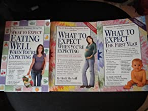 "Heidi Murkoff ""What to Expect"" Collection: Eating Well, When You're Expecting+When You're Expecting+The First Year"