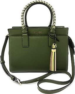 Kate Spade New York Cameron Saffiano Leather Medium Satchel Convertible Crossbody Bag Purse Handbag