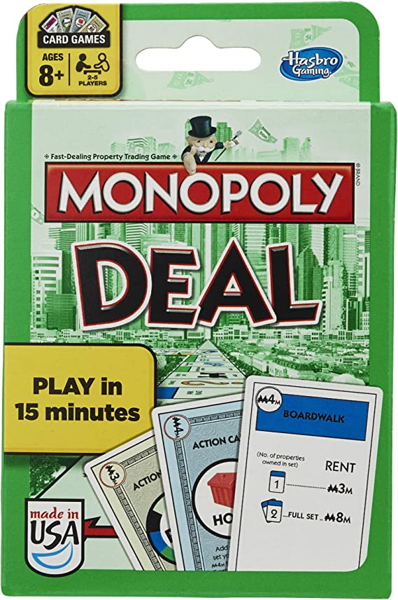 Monopoly Deal Card Game Brand New Sealed English Classic Property Trading Game