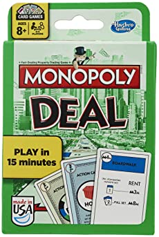 Monopoly Deal Card Game (Amazon Exclusive)