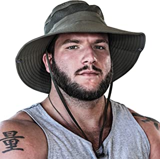 GearTOP UPF 50+ Wide Brim Sun Hat to Protect Against UV Sun Rays for Hiking Camping Fishing Safari