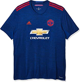 adidas Manchester United Away Soccer Stadium Jersey 2016-17 - Collegiate Royal/Real Red