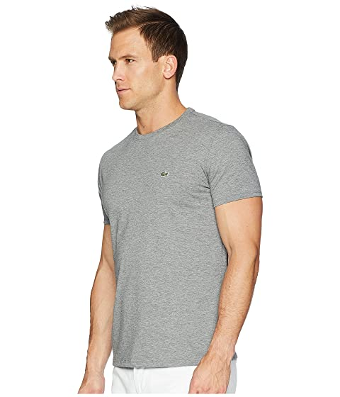 Lacoste Short Sleeve Pima Crew Neck Tee Galaxite Chine Clearance The Cheapest Official Online Cheap Low Price Fee Shipping Free Shipping Big Discount Free Shipping New Arrival oS9vq