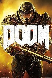 Trends International Doom Marine Wall Poster 22.375