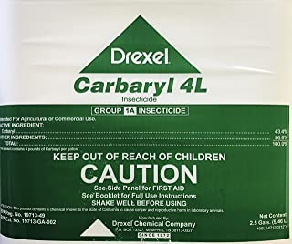 Carbaryl 4L Sevin 43.4% Carbaryl 2.5 Gallons