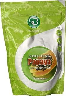 Possmei Bubble Tea Mix Instant Powder, Papaya, 2.2 Pound