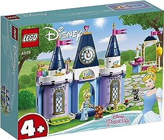 LEGO 43178 Disney Princess Cinderella's Castle Celebration Set with Animal Figures for Preschool 4+ Year Old Kids