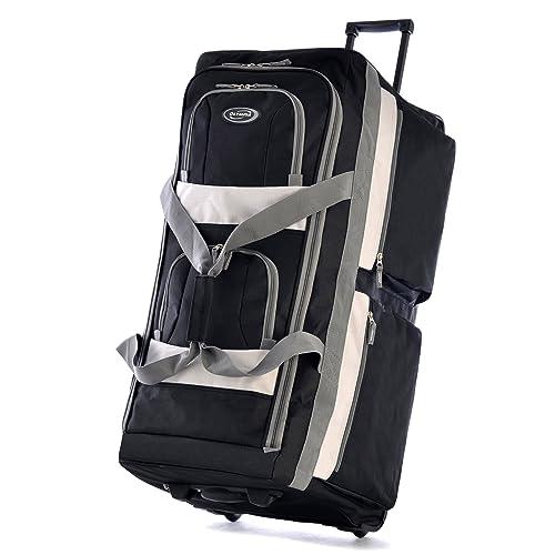 4f4a7668799e Large Rolling Duffle Bag  Amazon.com