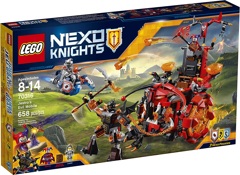 tienda en linea LEGO NexoKnights Jestro's Evil Mobile 70316 by LEGO LEGO LEGO  últimos estilos