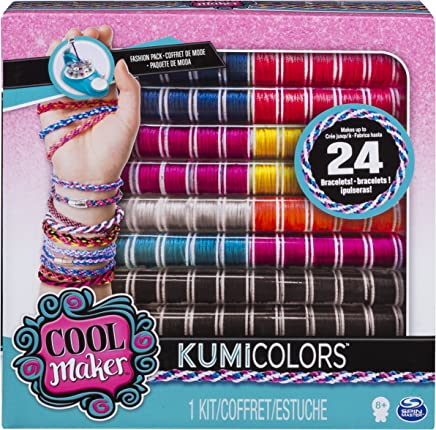 Cool Maker - Fashion Pack, Makes Up to 12 Bracelets with The KumiKreator KumiColors Multicolor