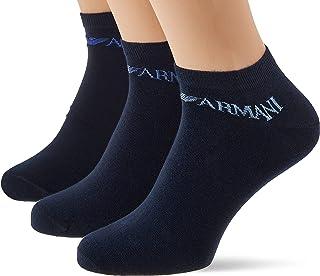 Emporio Armani Men's in-Shoe Socks Set of 3 Casual