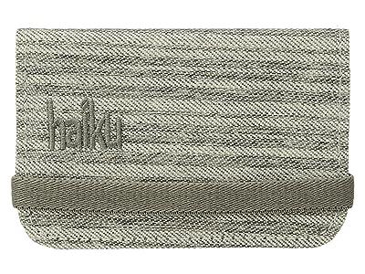 Haiku RFID Mini Wallet (Gray Poplar) Wallet Handbags
