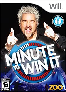 Minute To Win It - Nintendo Wii [video game]