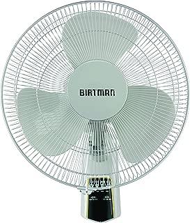 """Birtman UB-16PAREDCR-N Ventilador de Pared 16"""" con Control Remoto, Hueso"""