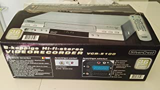 Magnétoscope VHS SilverCrest VCR-5100 6 têtes
