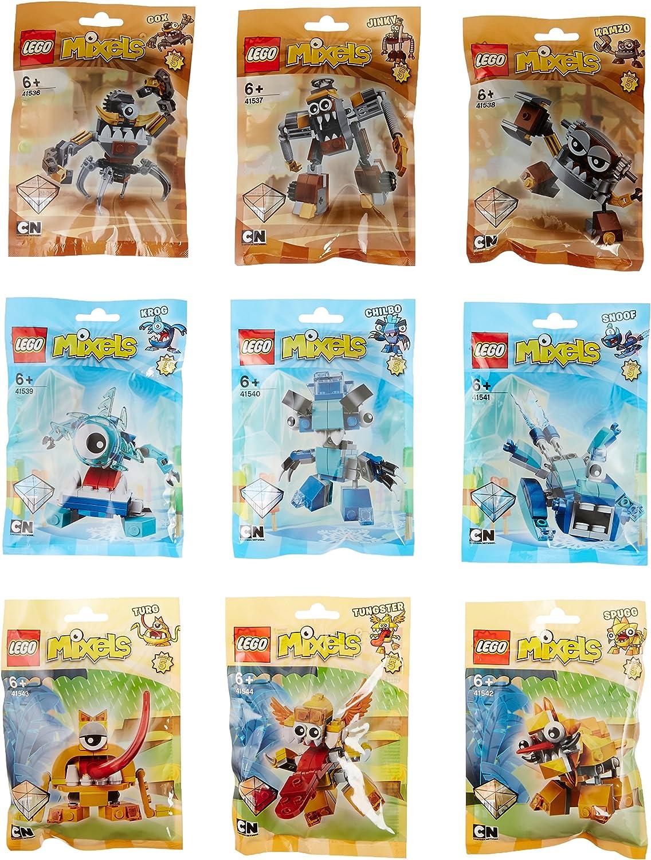 diseñador en linea Lego Mixels Mixels Mixels Series 5 Complete Set of All Figuras 41536 - 41544 by LEGO  bajo precio