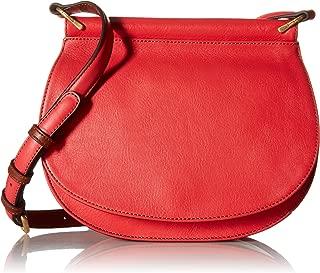 Women's Leather Sidesaddle Crossbody Purse