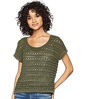 Larter Drop Needle Crop Sweater