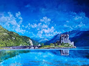 OIL PAINTINGS OF REPRESENTATIONAL ART: A colourful gallery of images depicting Worldwide Architecture, Landscapes, Histori...