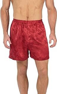Men's 100% Silk Boxer Shorts - Luxury Underwear (Executive Lounge)