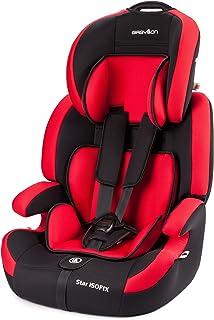 comprar comparacion Babylon Star ISOFIX Silla de coche para niños 9-36 kg grupo 1-2-3, fabricada en Europa, color rojo