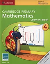 Best cambridge primary mathematics learner's book 4 Reviews