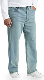 Amazon Essentials Men's Standard Big & Tall Relaxed Stretch Jean fit by DXL