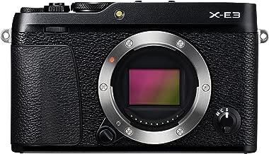Fujifilm X-E3 Mirrorless Digital Camera, Black (Body Only)
