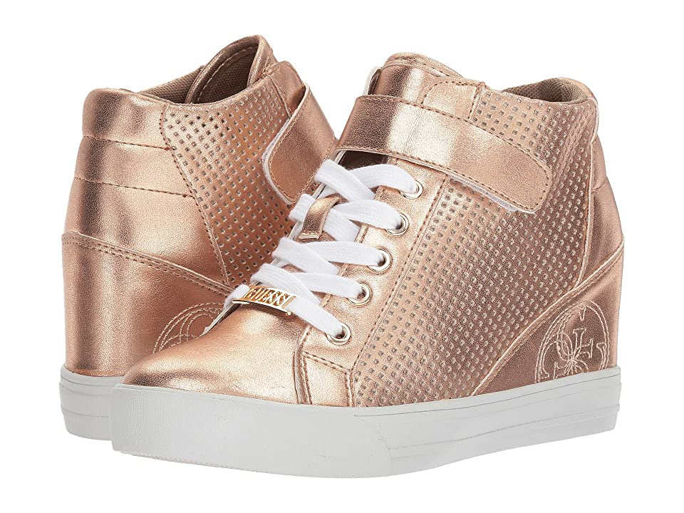 GUESS Decia 2 (Rose Gold Synthetic 1) Women