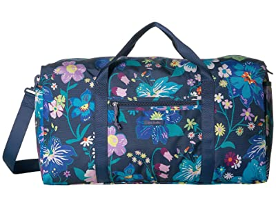 Vera Bradley Lighten Up Large Travel Duffel (Firefly Garden) Duffel Bags