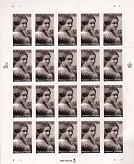 US Stamp - 1998 Black Heritage Madam C.J. Walker-20 Stamp Sheet #3181