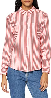 Tommy Jeans Tjw Essential Stripe Shirt Camisa Mujer