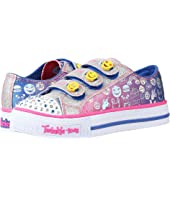 SKECHERS KIDS - Twinkle Toes - Expressionista 10704L Lights (Little Kid/Big Kid)