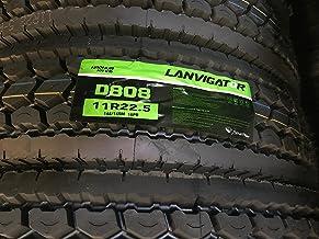 Lavingator Semi Truck Drive Position Tire 295/75/22.5 D808 - Set of 8 Rear Tires