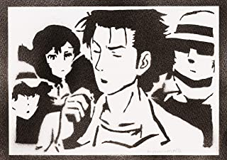Poster Steins;Gate Rintarou Okabe Handmade Graffiti Street Art - Artwork