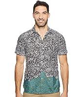 Perry Ellis - Short Sleeve Luau Flower Shirt