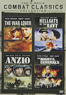 The Combat Classics Collection: (The War Lover / Hellcats of the Navy / Anzio / The Night of the Generals)