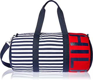 Tommy Hilfiger Consuela HILFIGER Stripe Canvas Duffle Bag, Navy Stripe