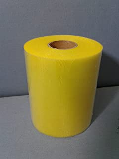 Ardito Michele Tulle 12,5cm Bobine jaune citron 100mètres