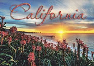 G1142 CALIFORNIA, LA JOLLA SUNSET POSTCARD G1142 from HIBISCUS EXPRESS