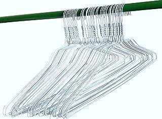 200 White Wire Hangers 18
