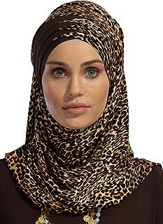 Jersey Shawl for Women Cotton Head Wrap Instant Scarf Modesty Turban Cap