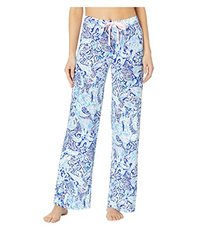 Lilly Pulitzer PJ Knit Pants (Royal Purple 60 Animals) Women